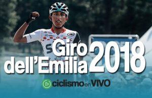 Giro dell'Emilia 2018 – Señal en VIVO
