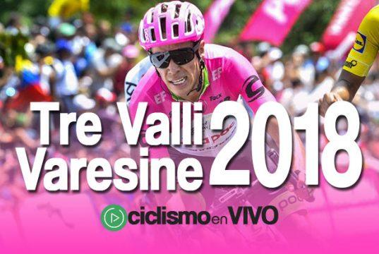 Tre Valli Varesine 2018 – Señal en VIVO