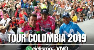 Tour Colombia 2019 – Señal en VIVO