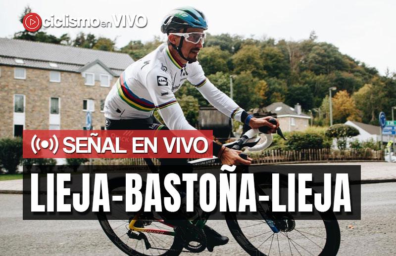 Lieja-Bastoña-Lieja 2020 - Señal en VIVO