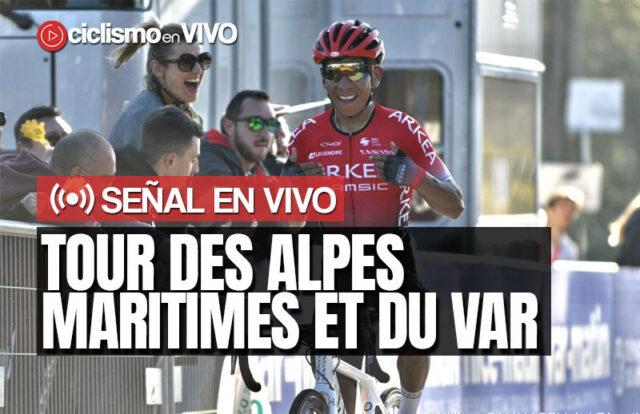 Tour des Alpes Maritimes et du Var 2021 – Señal en VIVO