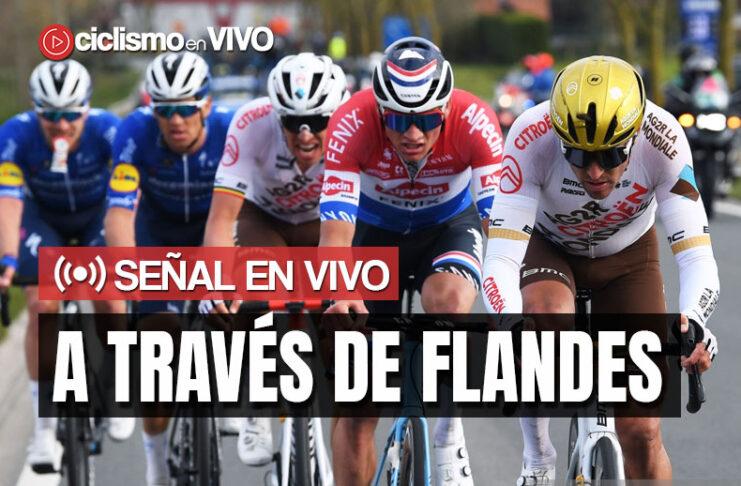 A Través de Flandes 2021 en VIVO