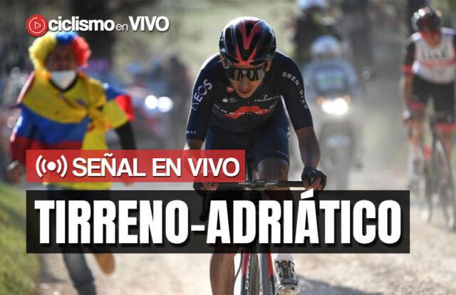 Tirreno-Adriático 2021 – Señal en VIVO