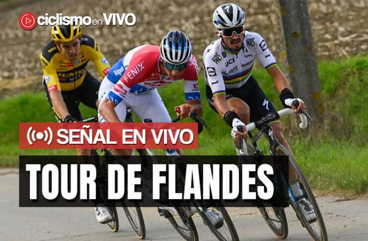 Tour de Flandes 2021 – Señal en VIVO