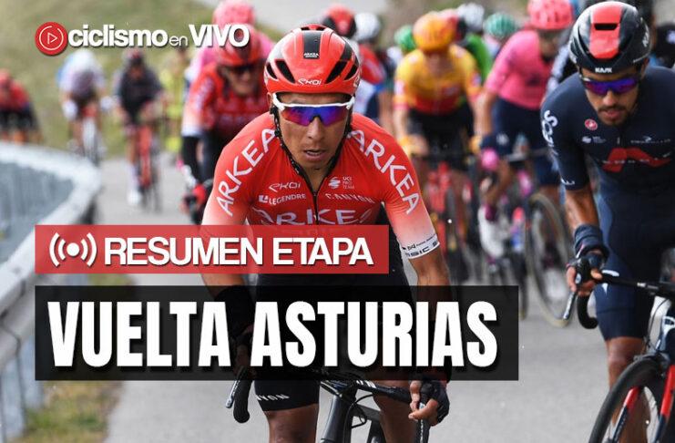 Vuelta Asturias 2021 – Resumen Etapas