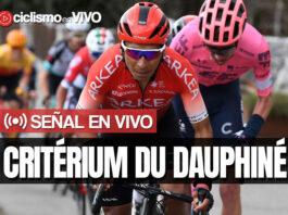 Critérium du Dauphiné 2021 – Señal en VIVO